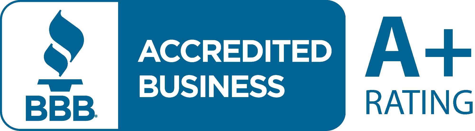 Better Business Bureau – A Plus Rating